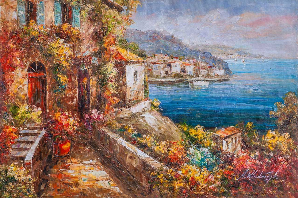 Andrzej Vlodarczyk. Blooming Mediterranean