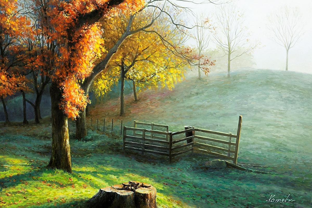 Савелий Камский. Осень. Дни прощального тепла…