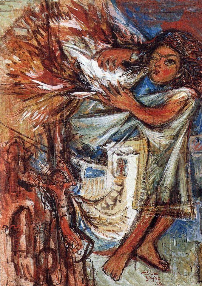 """""""После Потопа"""" образов и красок Элиаса Заята: выставка известного мастера в ОАЭ"""