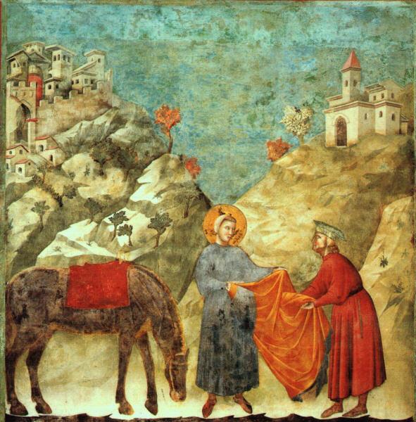 Фрагменты росписи Нижней церкви базилики Святого Франциска вАссиз