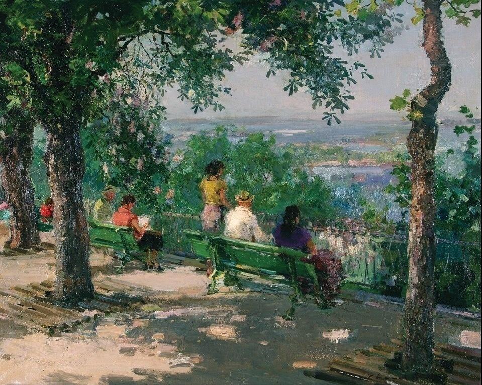 Картины Шишко, Глущенко и других украинских классиков «вырвались» от чиновников и теперь –на выставке