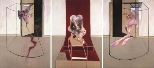 Francis Bacon. Triptych Inspired by the Oresteia of Aeschylus (1981)