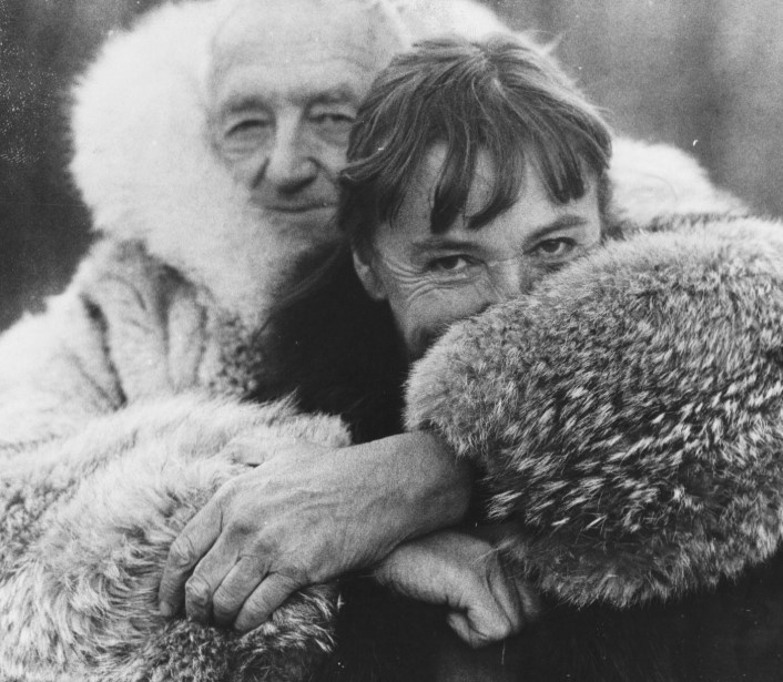 Andrew and Betsy Wyeth in 1982