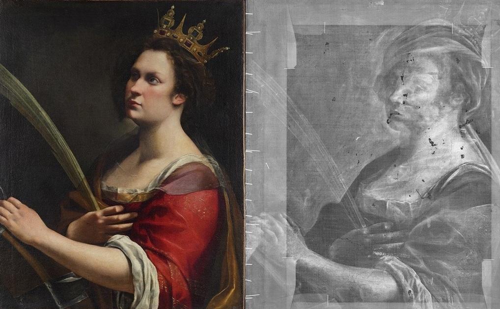 Неожиданный результат дал рентген портрета Артемизии Джентилески