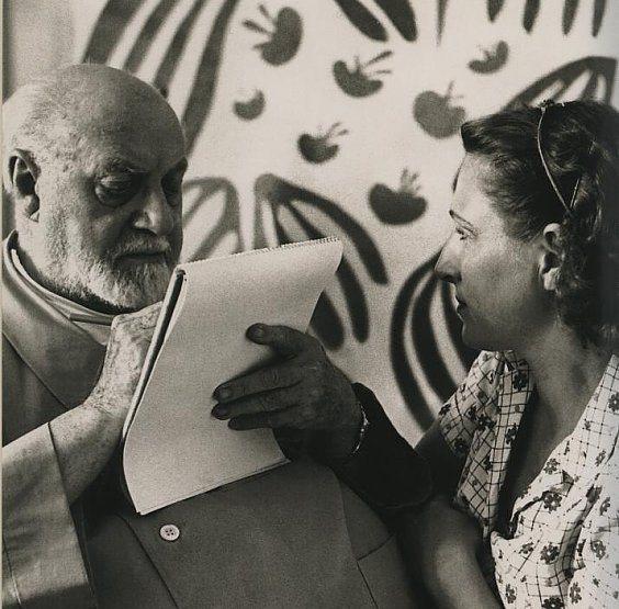 Love story in paintings. Henri Matisse and Lydia Délectorskaya