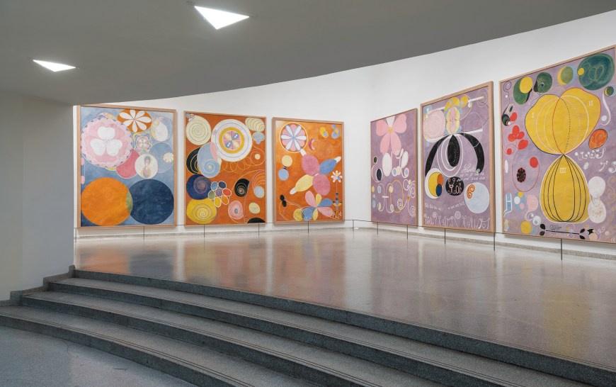 Экспозиция «Хильма аф Клинт. Картины для будущего» в нью-йоркском Музее Гуггенхайма признана выставк