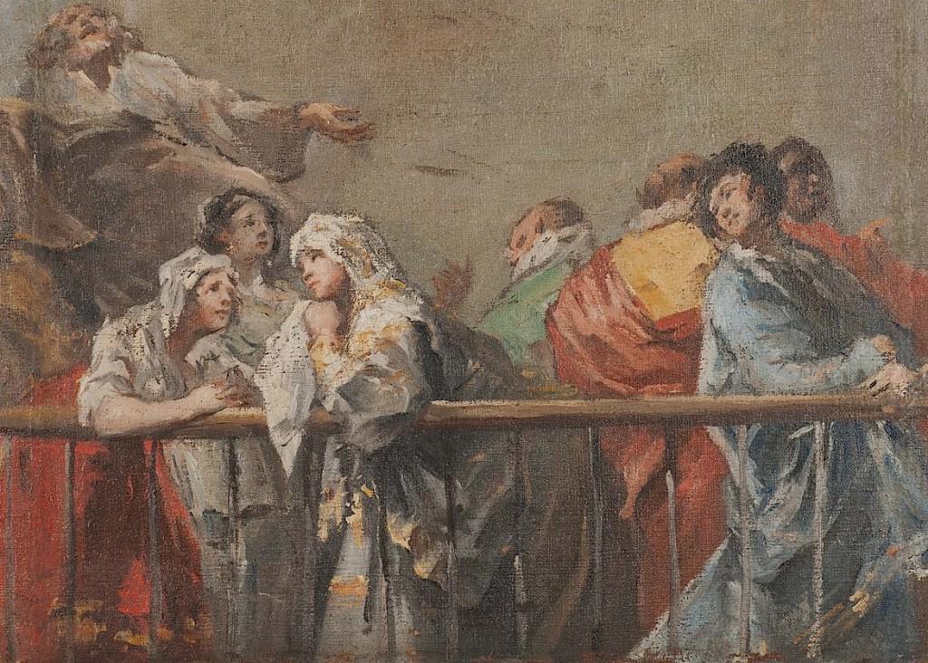 """""""Новый"""" Гойя открыт в музее США: картина - модель для всемирно известных фресок в Мадриде"""