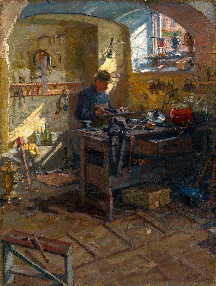 «Наследие эмигранта»: выставка Арнольда Лаховского в Самаре