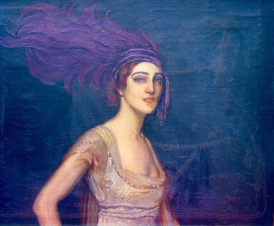 Ида Рубинтейн. Антонио де ла Гондара. Ок. 1917