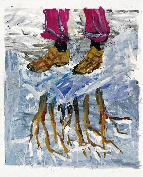 Георг Базелиц: «Искусство инстинктивно и вульгарно – это извержение»