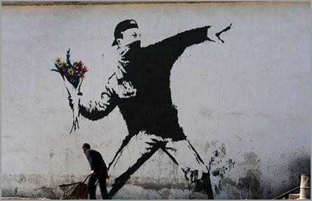 Rage, Flower Thrower, 2003. Jerusalem