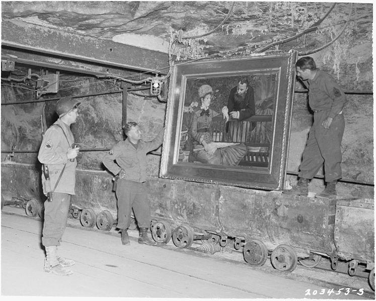 Приключения шедевральной пятерки: великие картины до и после Второй мировой (Часть 2)