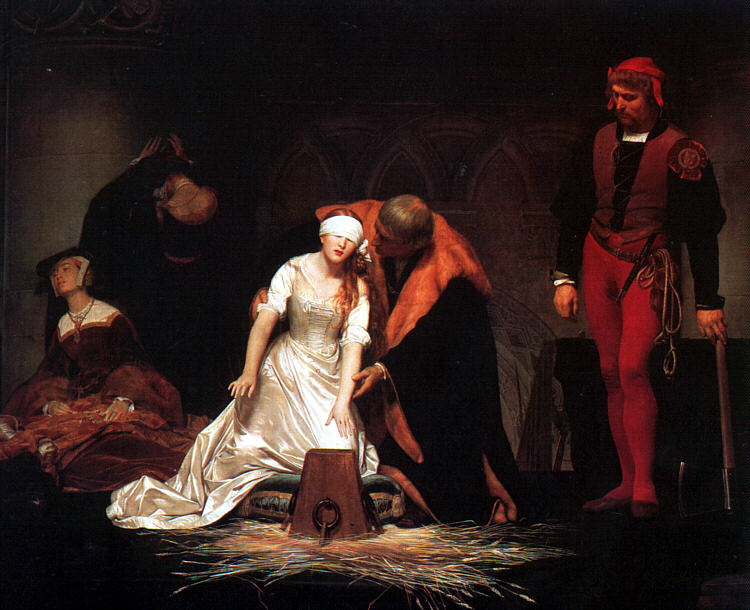 Paul Delaroche, The Execution of Lady Jane Gray, 1833