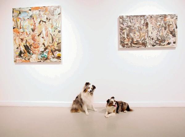 «Великолепное ничто» - выставка современной американской  абстракционистки Шери Франссен в Сан-Франциско плюс обзор ее «ускользающих» картин
