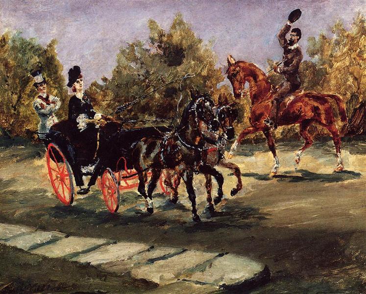 Анри Тулуз-Лотрек — «Ницца, на Английской набережной», 1880 г.