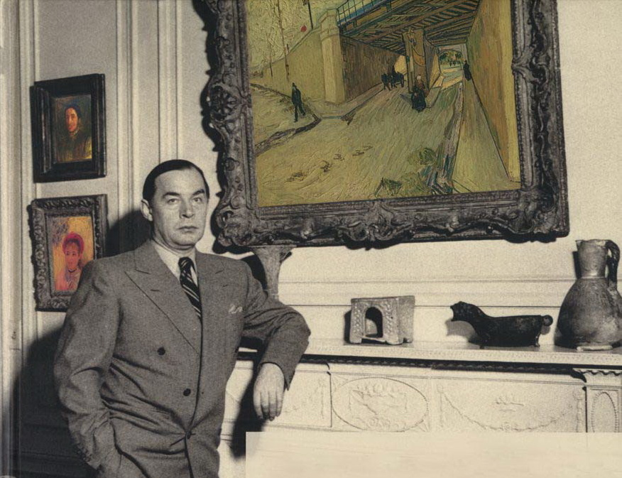 Remarque and his art collection: 'In order that each day may be filled to the brim with beauty'