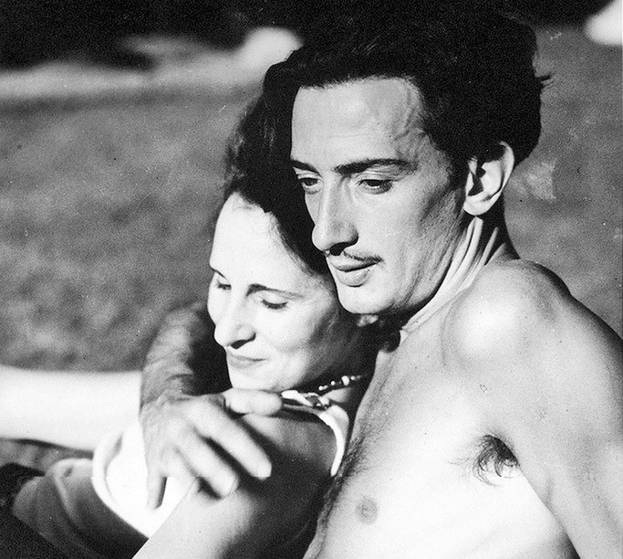 Love story in pictures: Salvador Dalí and Gala