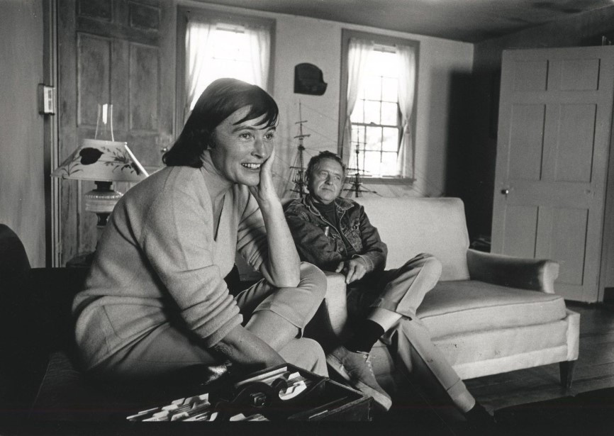 Andrew and Betsy Wyeth in 1960s