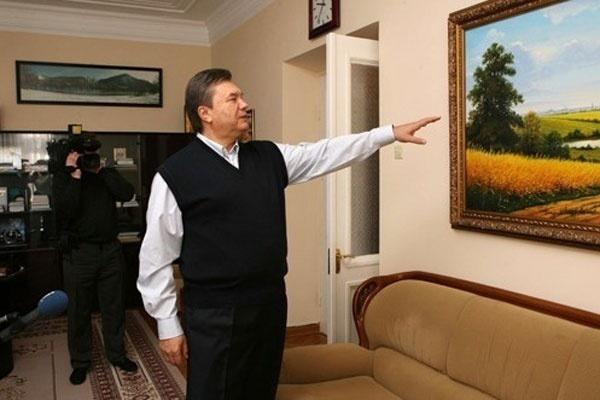 «Христос и грешница» Поленова - из бывшего поместья Януковича.