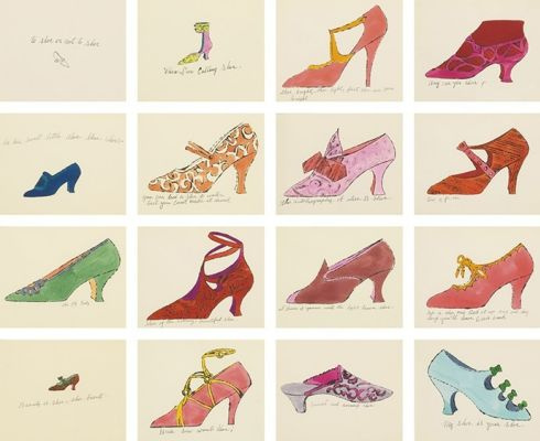 Shoes as symbols in art