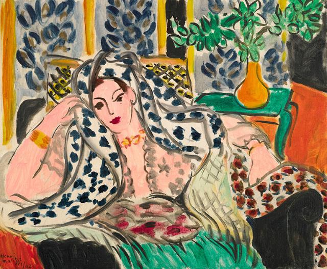 """Одалиска""  - турецкая принцесса кисти Анри Матисса на торгах Sotheby's за 12 млн. фунтов стерлингов: секреты гарема"