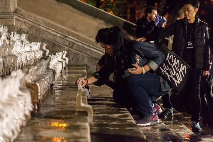 Тысячи тающих человечков Неле Азеведо напоминают об изменеии климата и о цености жизни