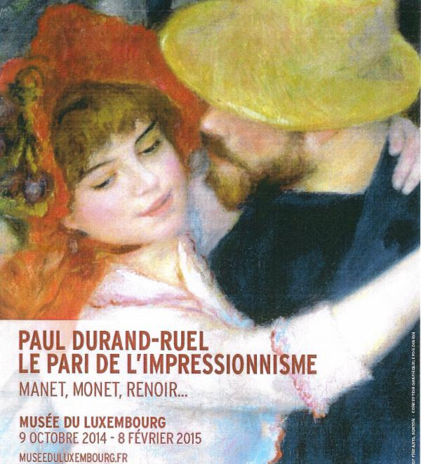 Дюран-Рюэль и мир как впечатление: выставка Мане, Ренуара и Моне в Париже.