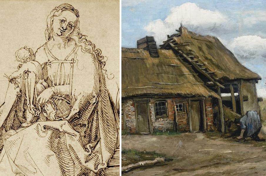 Неизвестный рисунок Дюрера продаст лондонский дилер, а картина Ван Гога произвела сенсацию