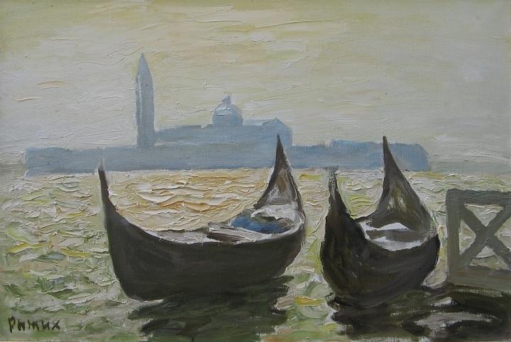 Живопись как эмоция: «Средиземноморье» - новые работы классика украинской живописи Виктора Рыжих