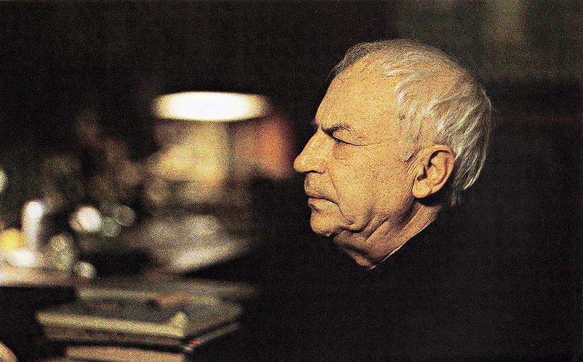 Востоковед Игорь Санович. Фото Леонида Огарёва, 1994. Предоставлено фотографом