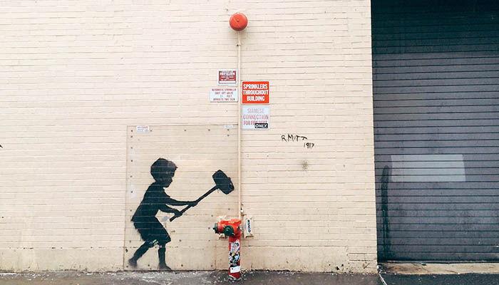 Hammer Boy, 2013. Manhattan, New York