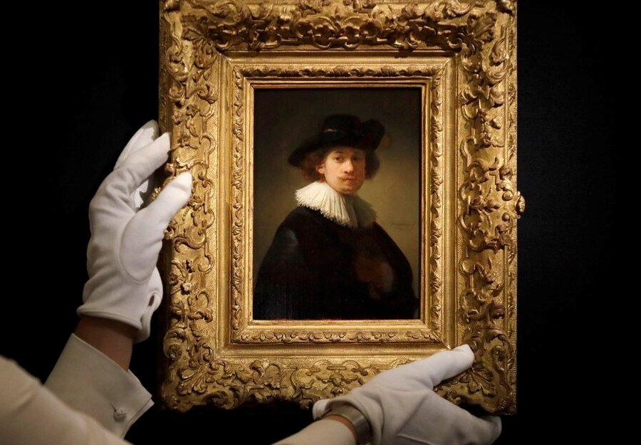 Небольшой портрет Рембрандта установил новый рекорд