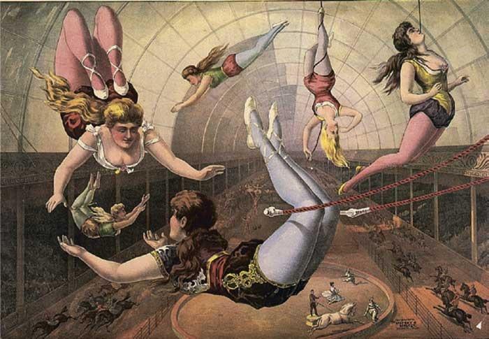 В цирк играли Шагал, Родченко, Экстер, Тышлер, Пивоваров... и вся честная публика!