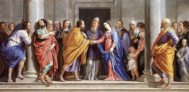 Philippe de Champagne. The Marriage of the Virgin Mary, 1644