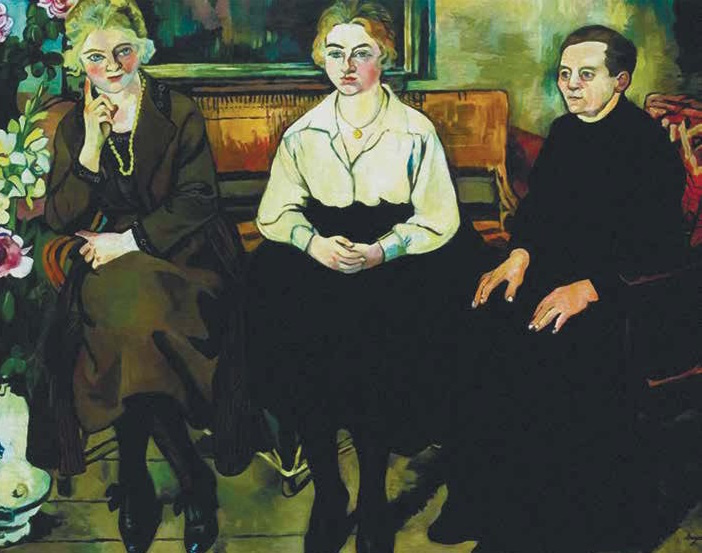 Suzanne Valadon. Utter Family. 1921