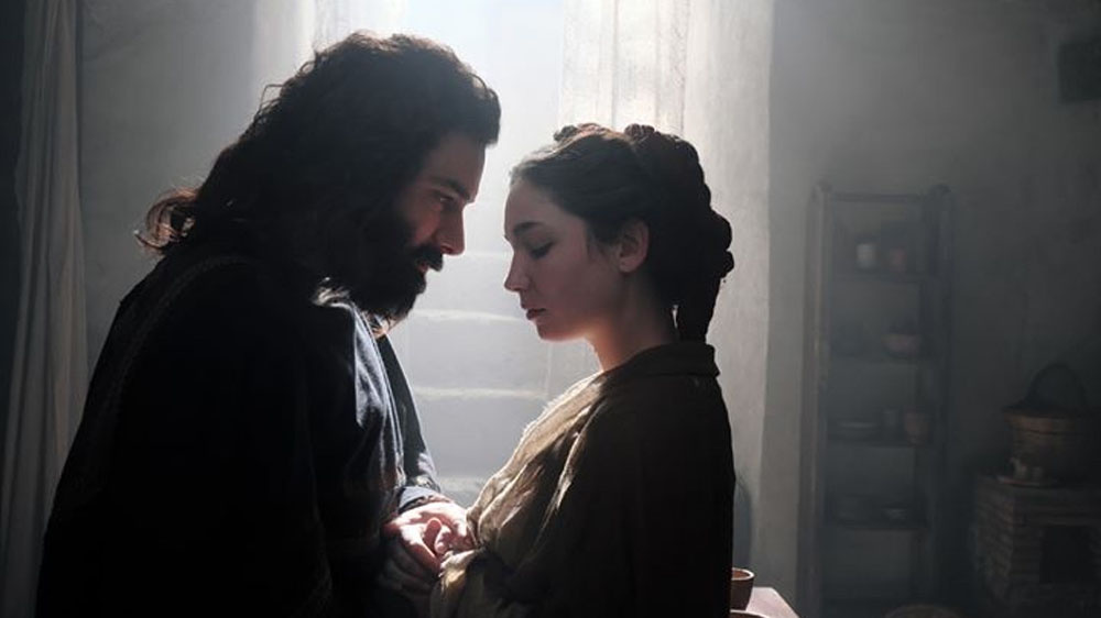 Leonardo da Vinci was played by Irishman Aidan Turner, and his beloved (but not mistress) named Cate
