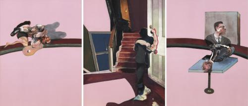 Francis Bacon. In Memory of George Dyer (1971)