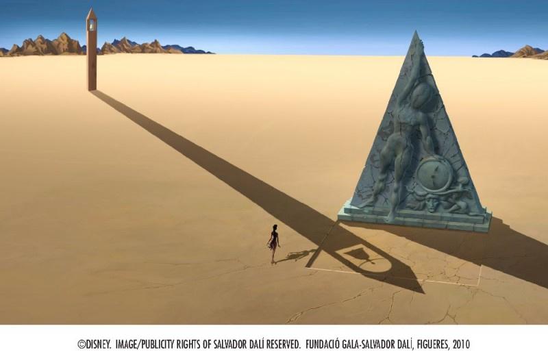 Surrealism 3D Art: Dalí, Disney — Destino!
