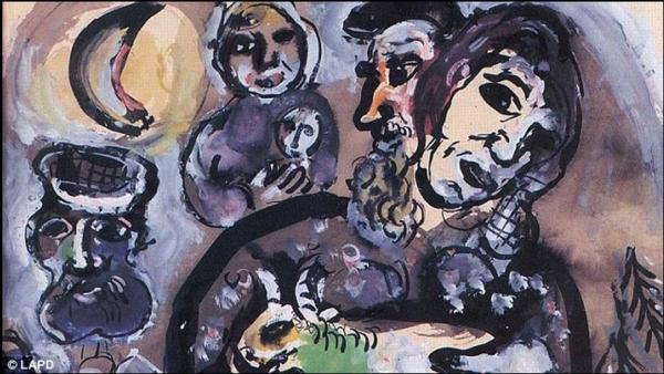 Возвращение «Крестьян…» Шагала, Риверы: полиция Лос-Анджелеса обнаружила 9 украденных картин стоимостью в миллионы