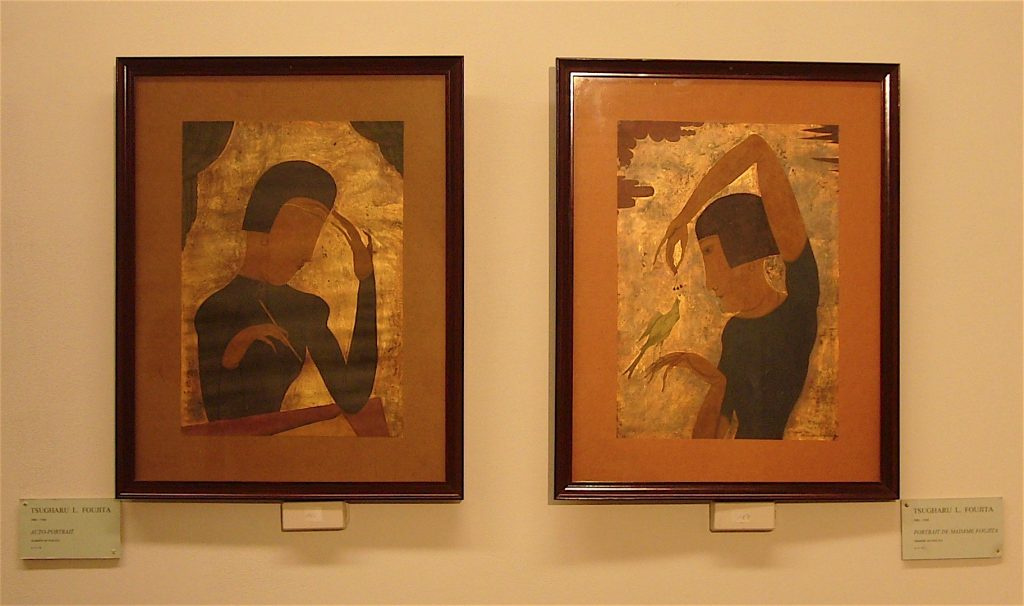 Such works by Fujita were in great demand in the Chéron's Gallery.