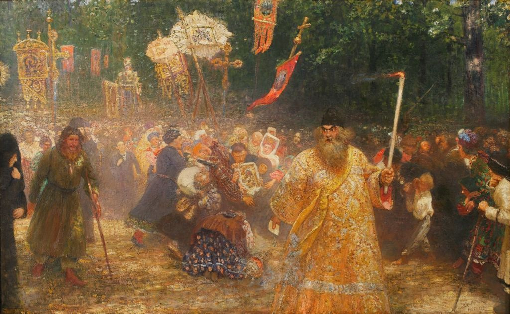 Масштабная и необычная выставка работ Ильи Репина пройдет этим летом в Чехии
