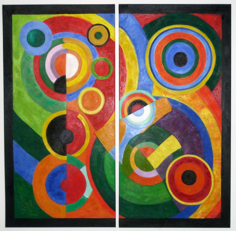 modernist styles including cubism orphism and