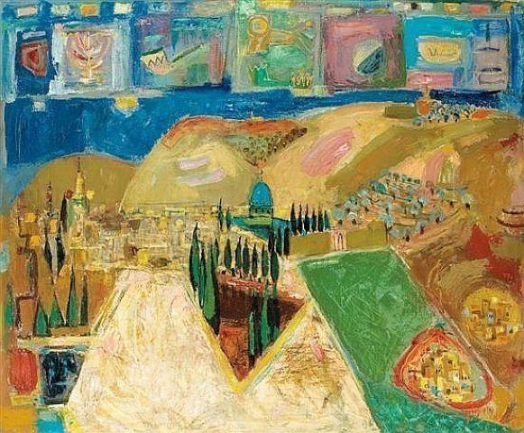 Цвета и краски Нахума Гутмана: создатель «палестинского стиля», изгнанный из Иерусалима