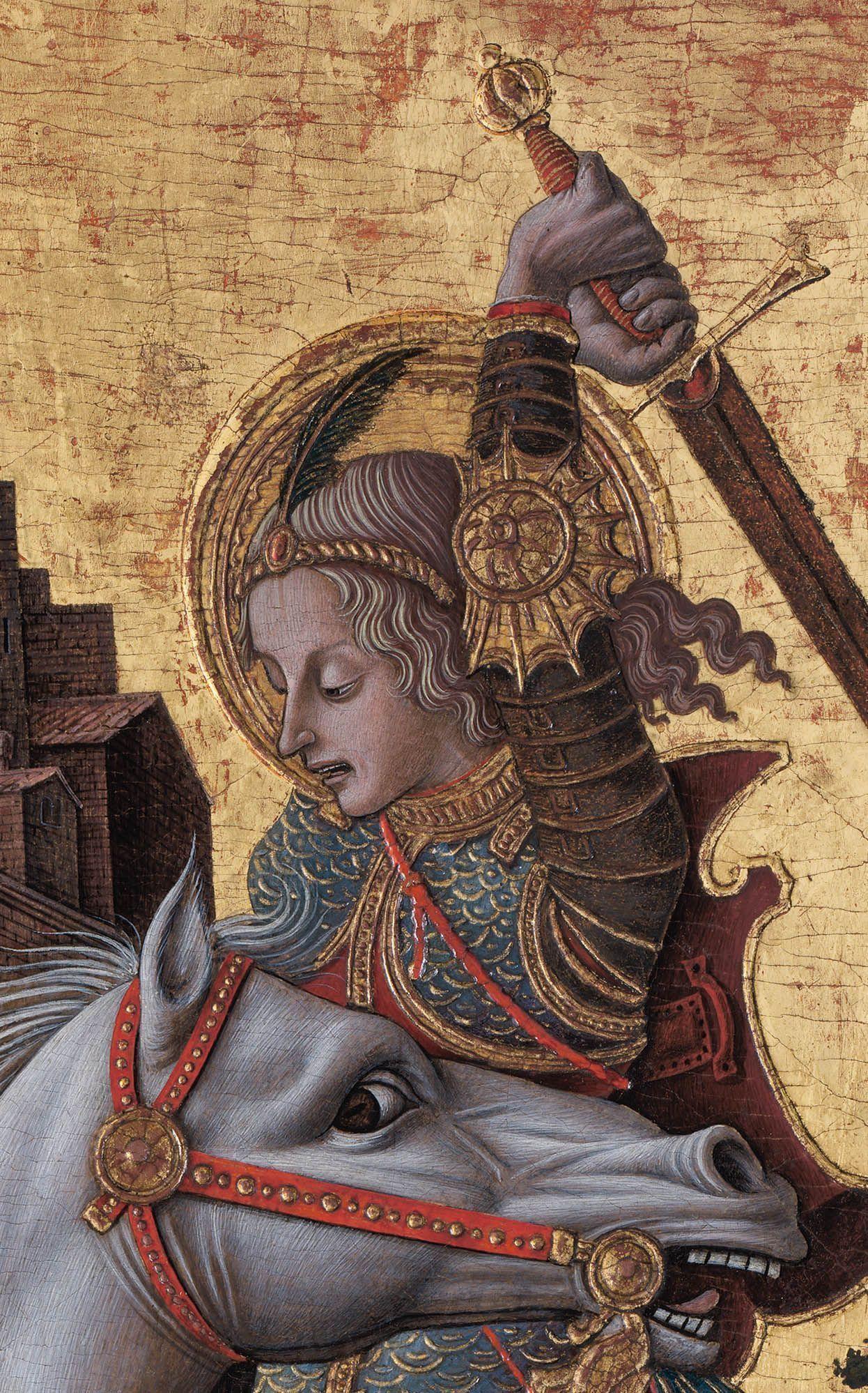 """Известнейшие шедевры  - в экспозиции """"Орнамент и иллюзия: Карло Кривелли, венецианец"""""""