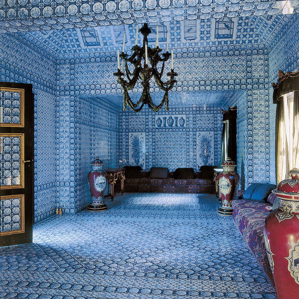 Château de Groussay, Turkish Tent Pavilion, interior. Source