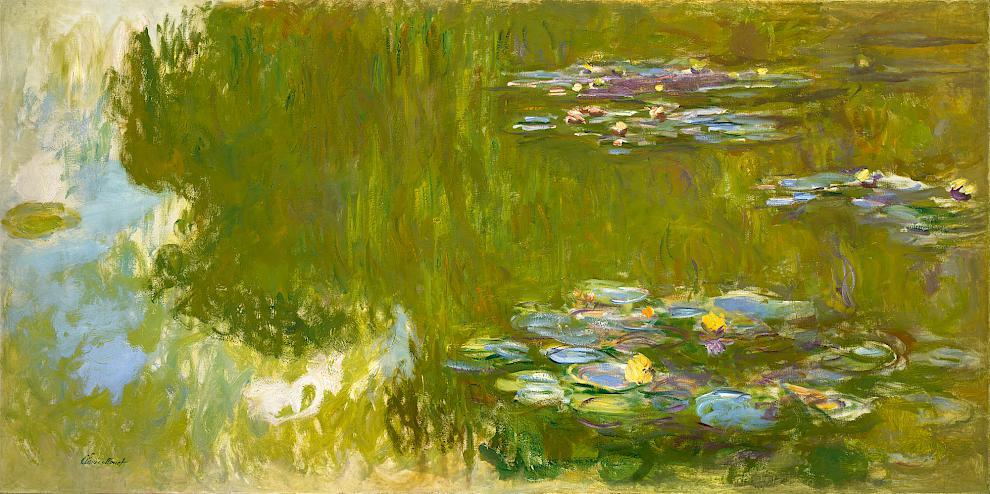 Claude Monet in Albertina: all around the Giverny garden