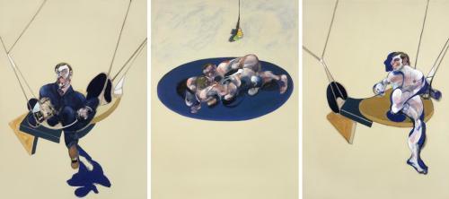 Francis Bacon. Triptych (1970)