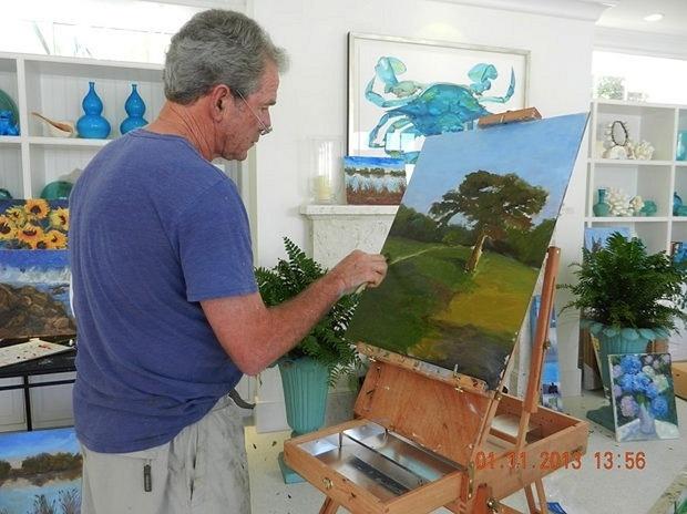 Ножки Буша и не только: из президента – в художники? Рэмбо, Маккартни и «звезды» выбирают мольберт