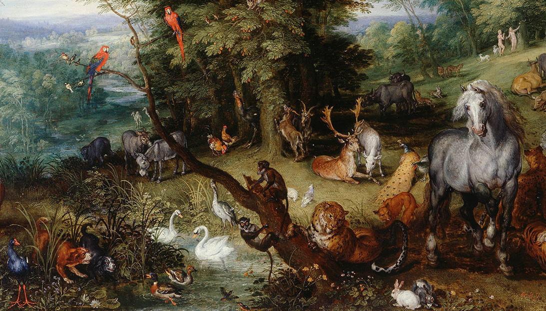 Все – в сад! Не только Брейгель и Рембрандт: выставка о парках и садах - в Букингемском дворце