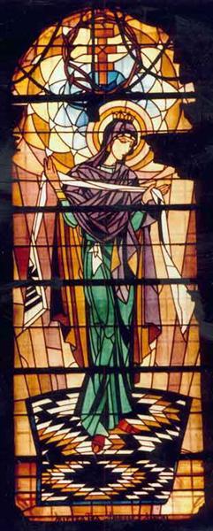 Богородица (церковь Успения Пресвятой Девы Марии) 1924, Львов (источник изображения)  В 1924-1930 Хо
